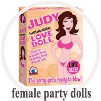 Female Inflatable Party Dolls