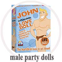 Male Inflatable Party Dolls